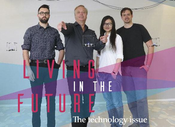 Computing Takes Centre Stage in Queen's Alumni Review
