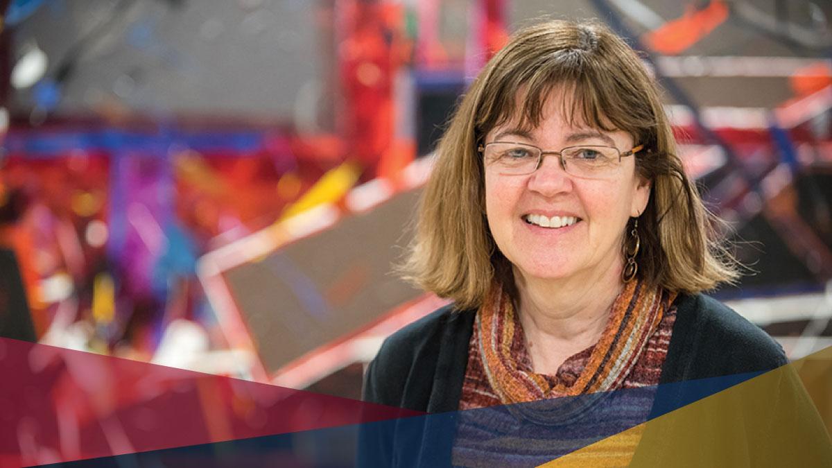 Wendy Powley Receives Chancellor A. Charles Baillie Teaching Award